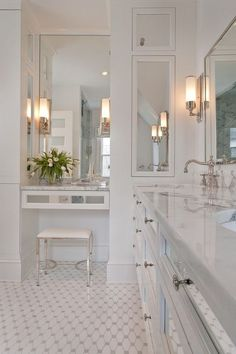 Traditional bathroom sconces traditional bathroom wall sconces mirror new. Modern Bathroom Mirrors, Bathroom Sconces, Modern Bathroom Design, Beautiful Bathrooms, Bathroom Interior Design, Decor Interior Design, Bathroom Designs, Master Bathroom, Bathroom Vanities