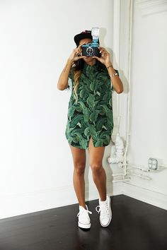 Karrueche Tran. This style men's shirt with some short shorts