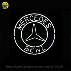 "109.20$  Buy here - http://ali3it.worldwells.pw/go.php?t=32764760716 - ""NEON SIGN For IG MERCEDES BENZ LOGO Signboard REAL GLASS BEER BAR PUB display RESTAURANT outdoor Light Signs 17*14"""" Super Bright"" 109.20$"