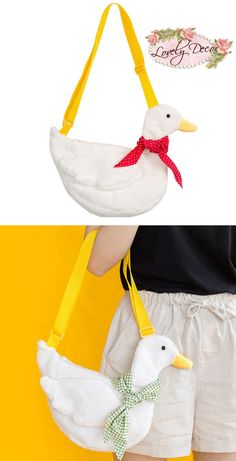 i legit need this omg Pekin Duck, Animal Bag, Quirky Fashion, Kawaii Shop, Kawaii Clothes, Cute Bags, Lolita Dress, Looks Cool, Types Of Fashion Styles