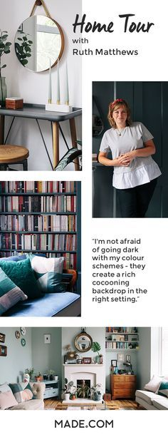 Design Soda's Ruth Matthews gave us a tour of her bohemian London home. With her eclectic taste, we learned how to make contrasting décors work.