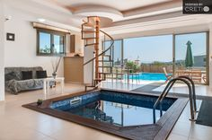 Luxury three story house Theoharis, Tavronitis | Cretico