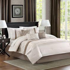 Madison Park Kasi 7 Piece Comforter Set|Designer Living