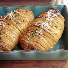 Distintas formas de presentar patatas para guarnición