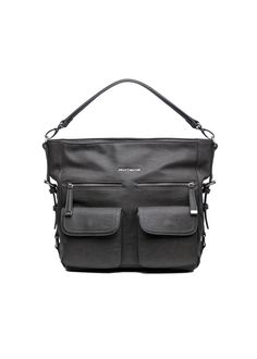 """Crafted with our NEW Cambrio Material - Exclusive to Kelly Moore Bag.It is water + abrasion resistant and vegan friendly. Outside dimensions:  15.5"""" (length)"""