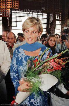 May 23, 1997: Diana, Princess of Wales visiting The Shaukat Khanum Memorial…