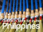 QUIDDITCH. More FUN in the Philippines! Philippines Tourism, Philippines Culture, Pinoy, More Fun, Harry Potter, Button, Random, Places, Travel