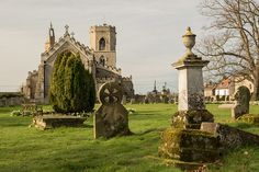 St Peter Upwell village church monuments Norfolk UK