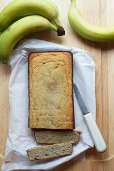 Low Sugar Coconut Flour Banana Bread - An easy to make low sugar coconut flour banana bread recipe that is gluten free, grain free, low carb and high in fiber. Less than 4 net carbs per slice, and 90 calories.