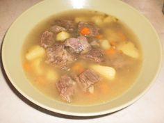 Κρεατοσουπα (μοσχάρι - πατάτα)