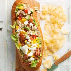Cobb Salad Sub If yo