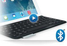 Ultrathin Keyboard Folio For iPad generation) - Logitech Logitech, Ipad Air, Keyboard, Gadgets, Iphone, School, Gadget