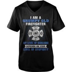 I Am A Grumpy Old #Firefighter T Shirt, Order HERE ==> https://www.sunfrog.com/Funny/130249423-851414726.html?54007, Please tag & share with your friends who would love it, #fireman pictures, fitness model, fitness food #retten , #architecture, #art   #firefighter #posters #kids #parenting #men #outdoors #photography #products #quotes