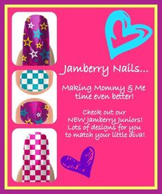 Jamberry Juniors for little girls up to 8 years old