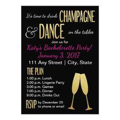 Bachelorette or Hens Party Invitation