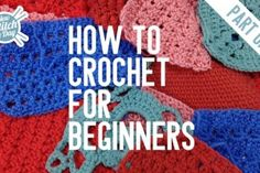 How to Crochet for Beginners (Part 1) by New Stitch a Day. I have been really wanting to learn since I read Friday night knitting club!!