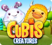 Cubis Creatures - http://www.allgamesfree.com/cubis-creatures/    Cubis is a match-3 game unlike any other with unique 3D gameplay.  Action truly comes at you from all sides - cubes can fall from  above, shoot in from the side, and even push other cubes out of the way.  Easy to learn yet difficult to master, only the best and  most dedicated players will earn...