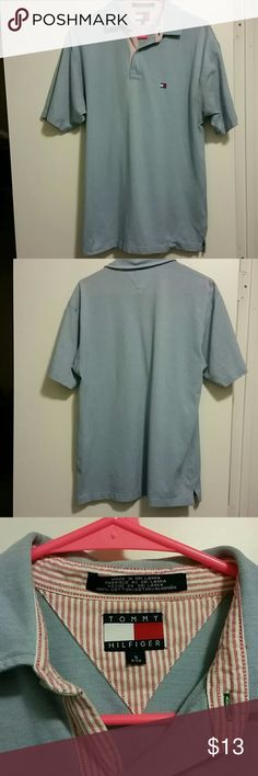 Tommy Hilfiger polo sm Light blue Tommy polo size small Tommy Hilfiger Shirts Polos