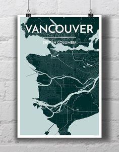 Vancouver City Map
