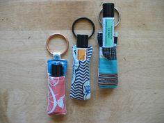 Caroline's Dream lip balm holders (So I stop losing all my lip balm!)