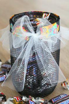 DIY Halloween treat jar ~ Creative Homemaking