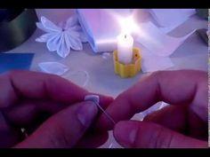 Passo a passo- Flor de cetim by Débora Di Castro - YouTube