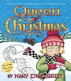 Look what I got for $3!! It has paper dolls with it! Queen of Christmas - a cute Christmas story with a good moral at the end