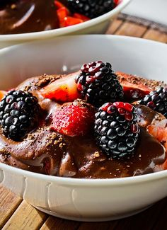 Avacado Chocolate Pudding - WHAT? I wonder what this would taste like..hmmm