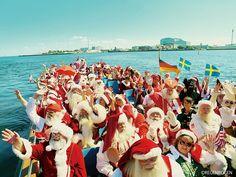 クリスマスの日には世界中の子供達にプレゼントをお届けするサンタさんたち。 世界中の子供達の元へやってくるわけだ […]