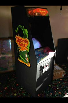 Dragon's Lair.  The vast majority of my tokens (five to the dollar back then) went to two games.  Dragon's Lair and the original stand-up Tron.