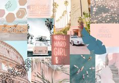 Free, trendy, cute, collage wallpaper for MacBook Wallpaper Für Desktop, Vintage Desktop Wallpapers, Macbook Pro Wallpaper, Cute Laptop Wallpaper, Wallpaper Notebook, Aesthetic Desktop Wallpaper, Summer Wallpaper, Retro Wallpaper, Computer Wallpaper