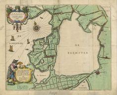 In 1607 werd door de Staten van Holland en West-Friesland aan enkele burgemeesters (van onder andere Amsterdam) en een aantal aanzienlijke kooplieden, toestemming verleend om de Beemster droog te maken. Er waren 50 molens nodig om de Beemster droog te pompen maar het is gelukt. Nu ligt de Beemster helemaal droog en is het een stuk bewoonbaar land geworden.