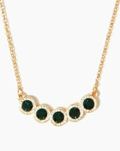 Marchesa Collar Pendant Necklace- Charming Charlie- $10.00