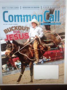CommonCall Magazine I designed. Cover shown.