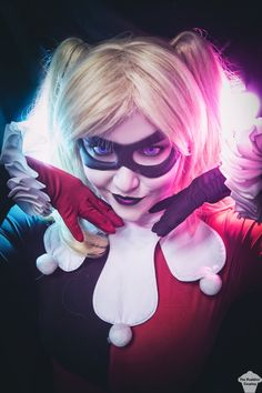 Classic Harley Quinn cosplay by www.facebook.com/ThePuddinsCosplay/