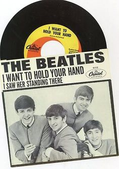 I Want to Hold Your Hand by The Beatles.  Released 50 years ago today. 12/26/13