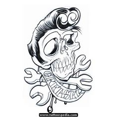 Greaser tattoo