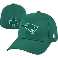 New England Patriots Green St Patricks Day Hat