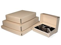 8 1/2 x 10 1/2 x 3 Metal Edge Tan Archival Box [ASB101]