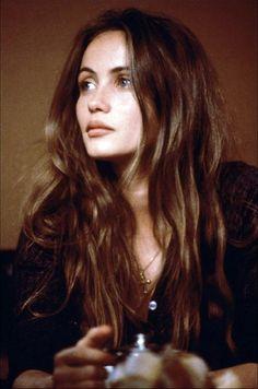 Emmanuelle Béart. Beautiful Brown.