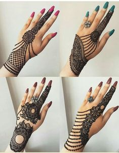 Comment with your favorite henna design. Arabic Bridal Mehndi Designs, Mehndi Designs 2018, Modern Mehndi Designs, Mehndi Design Pictures, Mehndi Designs For Fingers, Beautiful Henna Designs, Mehndi Designs For Girls, Henna Tattoo Designs, Henna Tattoos