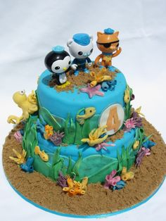 An Occasion for Cake: Octonauts Cake
