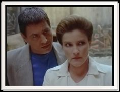 Chakotay and Captain Janeway - Future's End