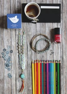 DIY/ Bijoux & accessoires Archives » Virginie Peny: Do-It-Yourself Projects & Personal Style