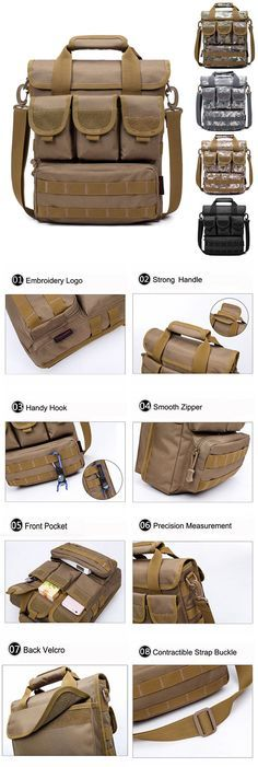 Outdoor Outfit: Casual Crossbody Bag / Sports Multi Pocket Bag For Men