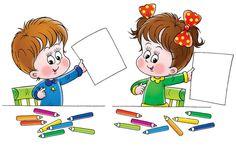 Illustration of artist, cartoon - 2979569 Preschool Education, Preschool Activities, Daily Schedule Preschool, School Clipart, Art Classroom, Childhood Education, Drawing For Kids, Colouring Pages, Bird Art