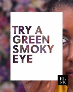 We're green with envy over this fall-ready smoky eye.
