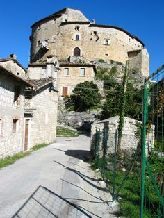Aquasanta Terme, where my mother's father was born