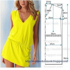#FotoRus#dress #summer #yellow #sew #pattern #recipe #tutorial #dıy  #Padgram