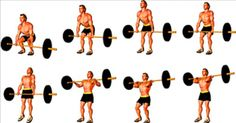 Hang Power Clean graphic